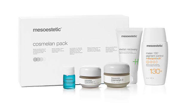 photo mesoestetic cosmelan depigmentation institut de beaute rennes
