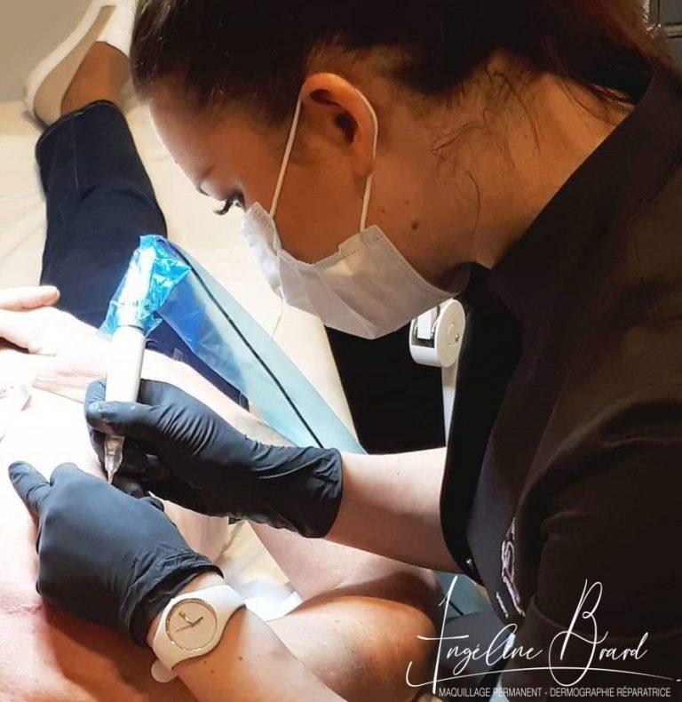 photo maquillage permanent