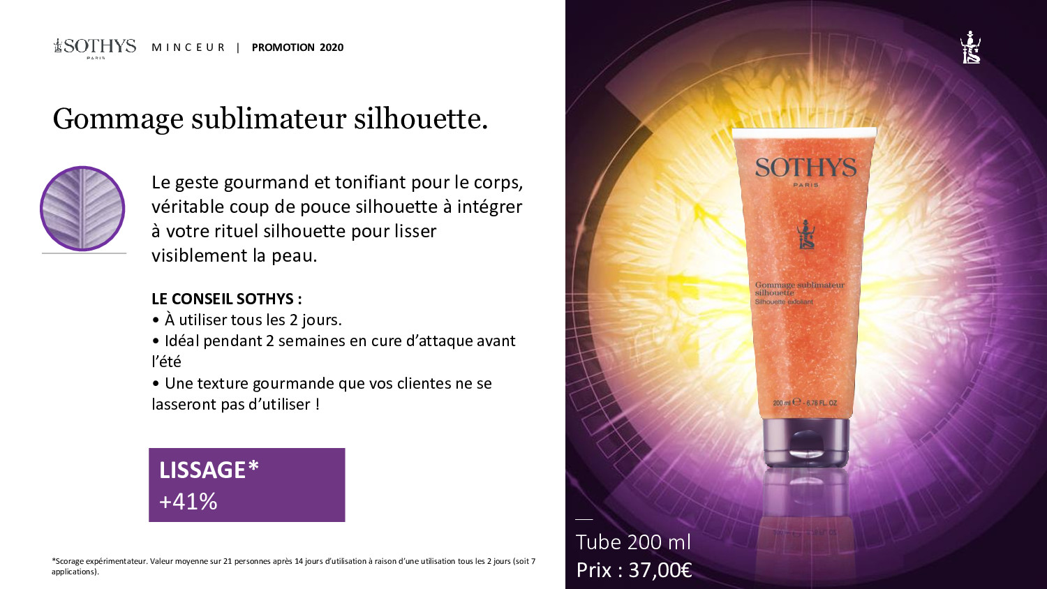 offre corps Sothys
